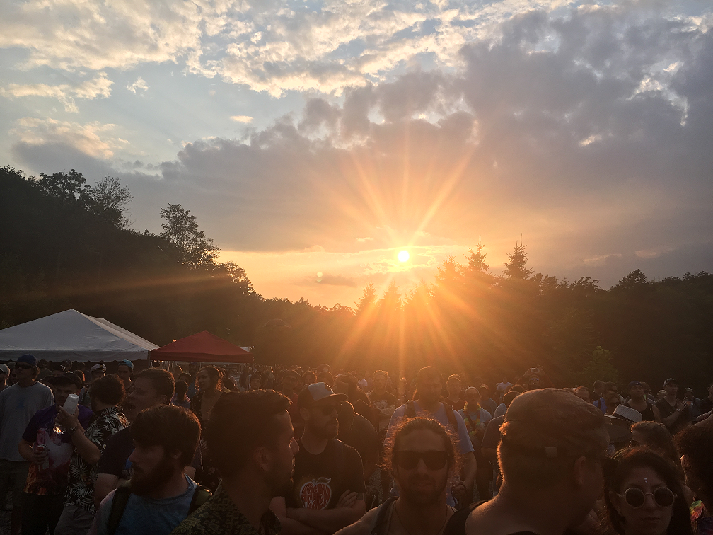 Sunset at the Peach